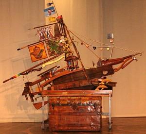 Life's Voyage sculpture