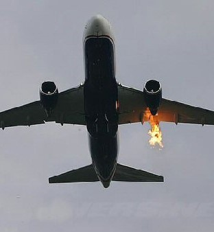 What If YOUR Plane's Engine Was on Fire?